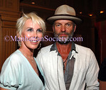 "Trudie Styler and Singer Sting attend ""The Ivy Ceiling"" album launch party at the Bruno Jamais Restaurant"