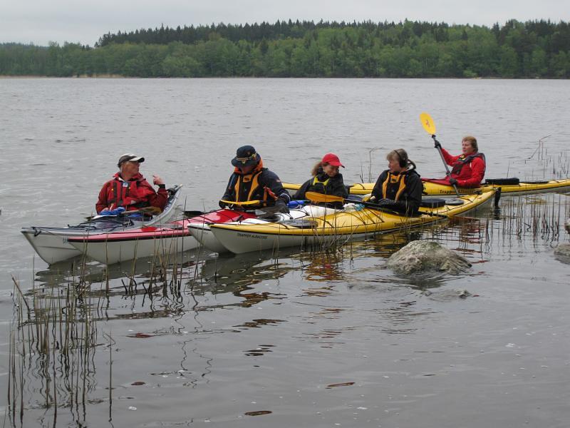 Kjell, Anders, Johanna, Susanne och Anette