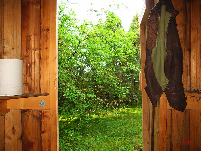 Denna vy gjorde forografen glad, ett utmärkt dass bara fanns där i skogen när det behövdes som mest....