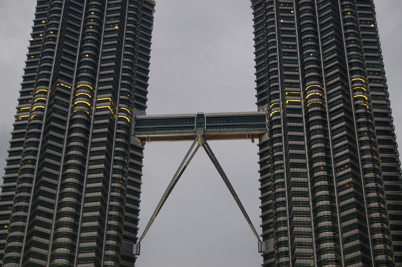 Skybridge at the Petronas Towers