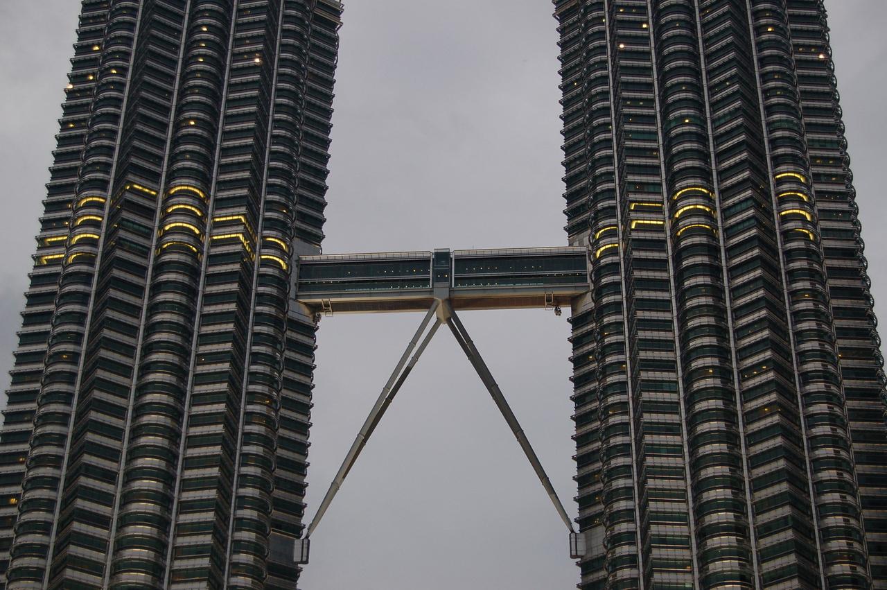 Skybridge at the Petronas Towers