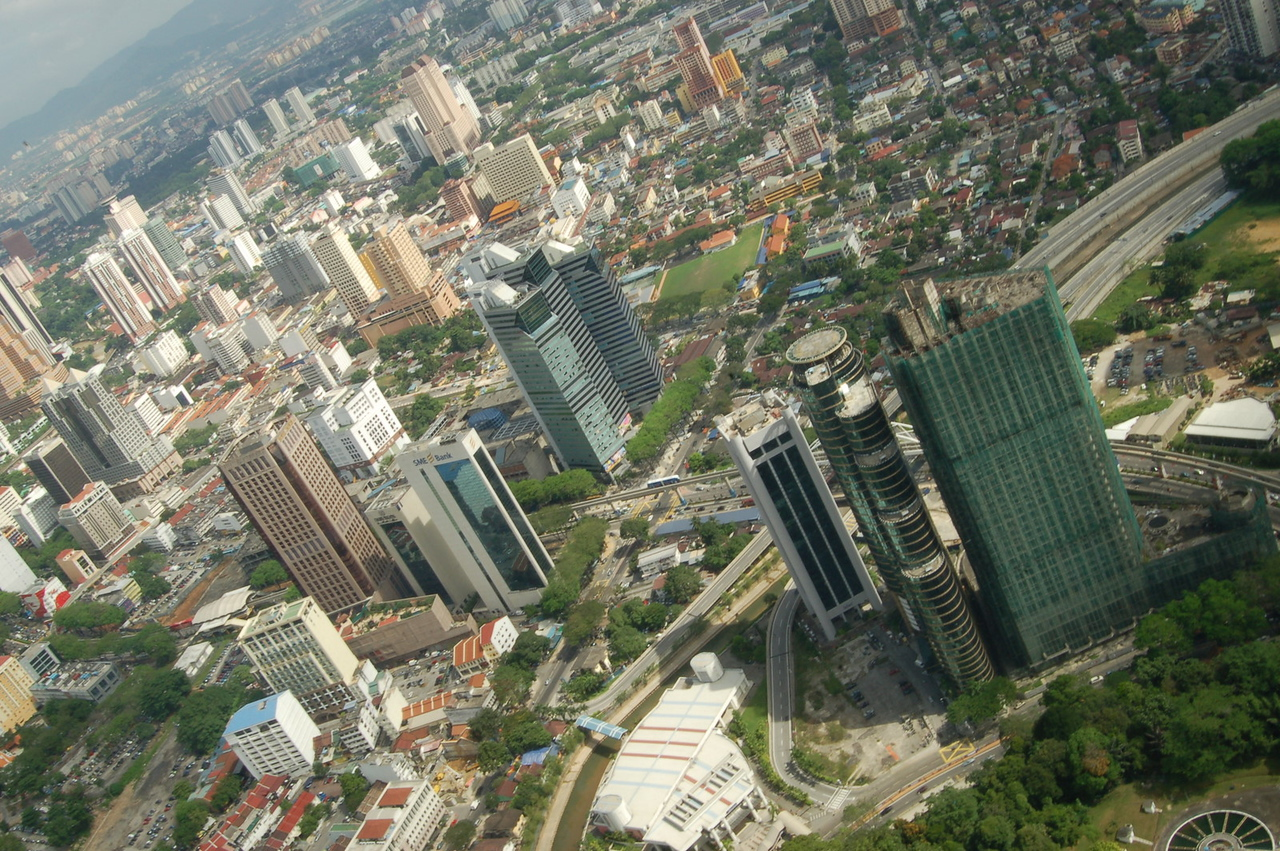 KL from the KL tower