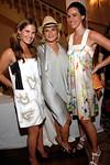 "Jane Bloomingdale, Tatiana Sotiriou, Sarah Basile at The Americas Society on Park Avenue for LATIN AMERICAN HEALTH FOUNDATION: ""A Tropical Affair"""