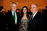 NEW YORK-NOVEMBER 10: Former Senator Robert Kerrey, Lindsay Westphal, and Joseph Westphal attend LINCOLN CENTER For The Performing Arts Fall Gala & Fundraiser Honoring JULIEN J. STUDLEY at  Avery Fisher Hall in New York City on  on Monday, November 10, 2008 (Photo Credit: Christina Nuki)