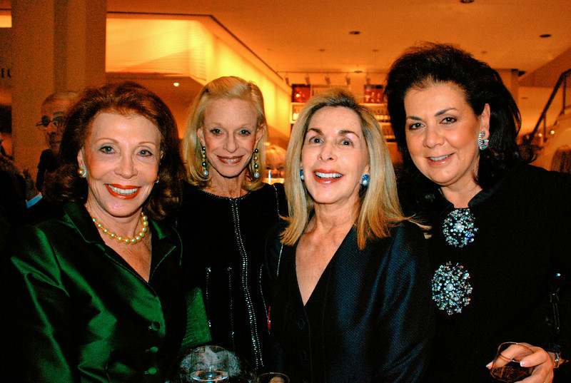 NEW YORK-NOVEMBER 10:  Florence Kaufman, Linda Lindenbaum, Frieda Furman, and Paola Schulhof attend LINCOLN CENTER For The Performing Arts Fall Gala & Fundraiser Honoring JULIEN J. STUDLEY at  Avery Fisher Hall in New York City on  on Monday, November 10, 2008 (Photo Credit: Christina Nuki)