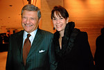 NEW YORK-NOVEMBER 10: Jerry I. Speyer and Katherine Farley attend LINCOLN CENTER For The Performing Arts Fall Gala & Fundraiser Honoring JULIEN J. STUDLEY at  Avery Fisher Hall in New York City on  on Monday, November 10, 2008 (Photo Credit: Christina Nuki)