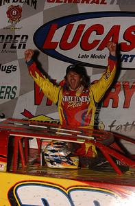Tim McCreadie in Victory Lane