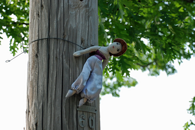 The voodoo barbie
