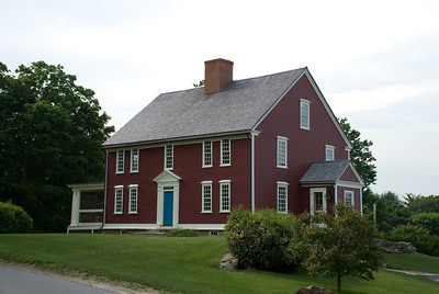 A very old (original structure from 1727) house that is being restored.  One of my favorites.