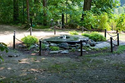 The Pliney fountain.