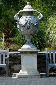 Huge urn statue.