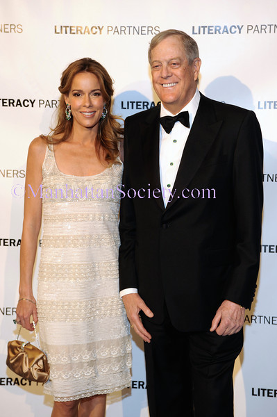 "Mr. & Mrs. David H. Koch NEW YORK-MAY 12:  VIP Guests attend Literacy Partners 2008 Gala –""An Evening of Readings"" Honoring Mr. & Mrs. David H. Koch for their Commitment to Adult Literacy at The New York State Theater at Lincoln Center, Columbus Avenue at 63rd Street, New York City, NY on Monday, May 12, 2008 (Photo Credit: Gregory Partanio/ManhattanSociety.com)"