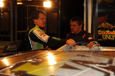 Scott Bloomquist and Chris Madden