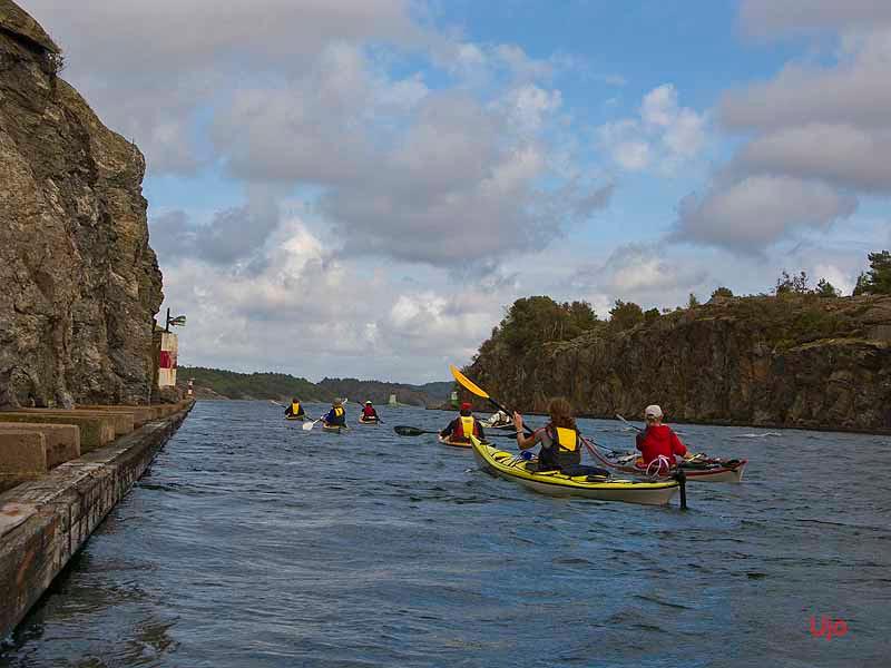 En plats där Du kan uppleva Sveriges kraftigaste havsströmmar.
