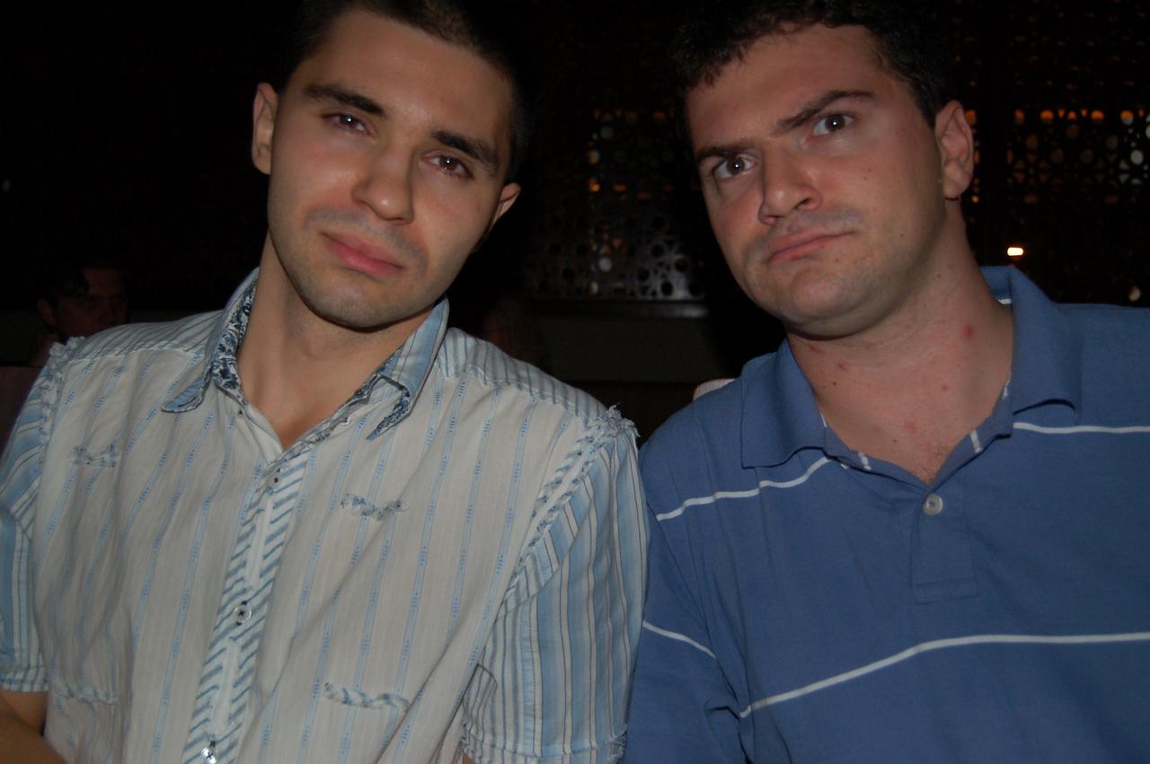Denis and Matt sad