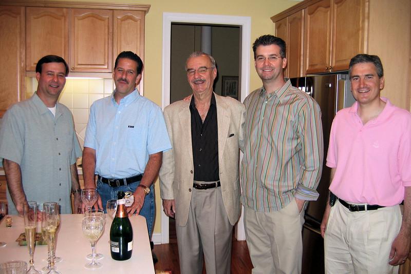 Don Jr, Jack, Don, Ken, and John