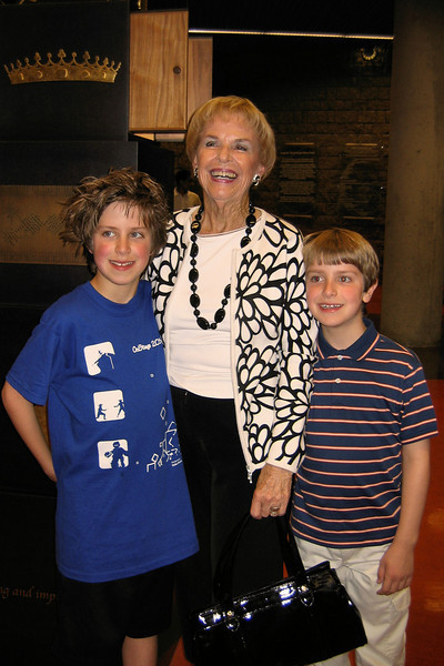 Jacob with Nonna and Anthony