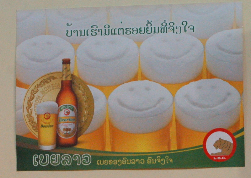 28 beerlao makes you happy