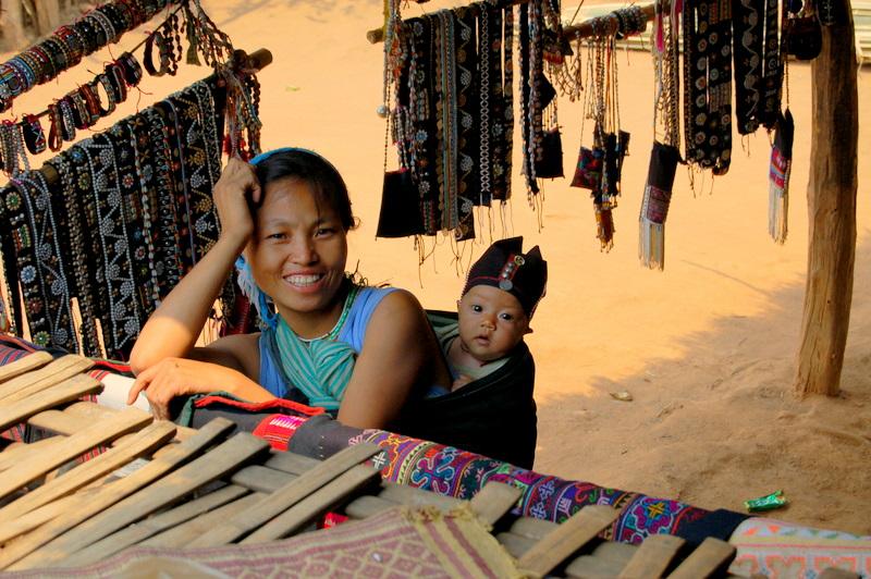 14 local tribeswoman