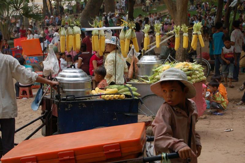 39 corn on the cob seller