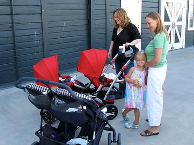 Dueling dual strollers