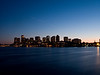 The Boston Skyline from East Boston,