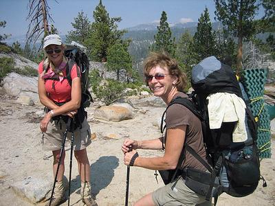 Guides Karen and Val.