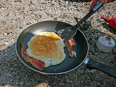 Last morning's breakfasts.