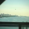Heading into the city
