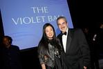 Vera Wang and Harold S. Koplewicz, Vice Dean of External Affairs at NYU Langone Medical Center (photo credit: Juliana Thomas)