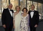 Kenneth G. Langone, Elaine A. Langone, Dr. Elisabeth Cohen, and Dean Robert I. Grossman, NYU Langone Medical Center (photo credit: Lisa Berg)