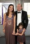 Lori and George Hall, NYU Langone Medical Center Trustess and Daughter (photo credit: Lisa Berg)