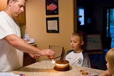 Nate's 9th Birthday