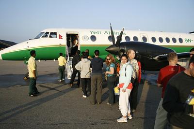 Yeti Air flightsee to Everest.