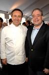 Chef Daniel Boulud, with Manhattan Borough President, Scott Stringer