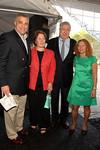 Doug Griebel, President of the Columbus Avenue BID, Nina Zagat, Time Zagat, Barbara Adler, Columbus Avenue BID Executive Director