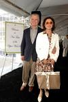 Robert Quinlan, chairman of the Columbus Avenue BID & wife Encarnita