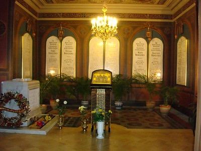 The Tombs of the Last Romanov Tsar and Family, Recently Brought to Peter and Paul's Cathedral - Liz Greenberg