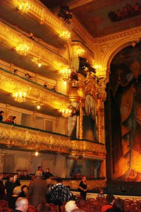 Interior of the World-Famous Mariinsky Theatre - Liz Greenberg
