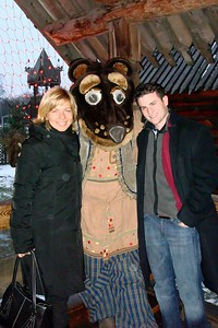 Tour Guide Olga Boyarskaya, Chris Berger and the Bear - Liz Greenberg