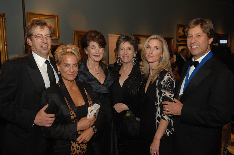 Bill and Ophelia Rudin, Susan Rudin, Beth DeWoody, Fiona and Eric Rudin