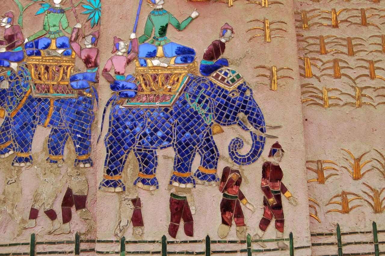 Elephants in tiles