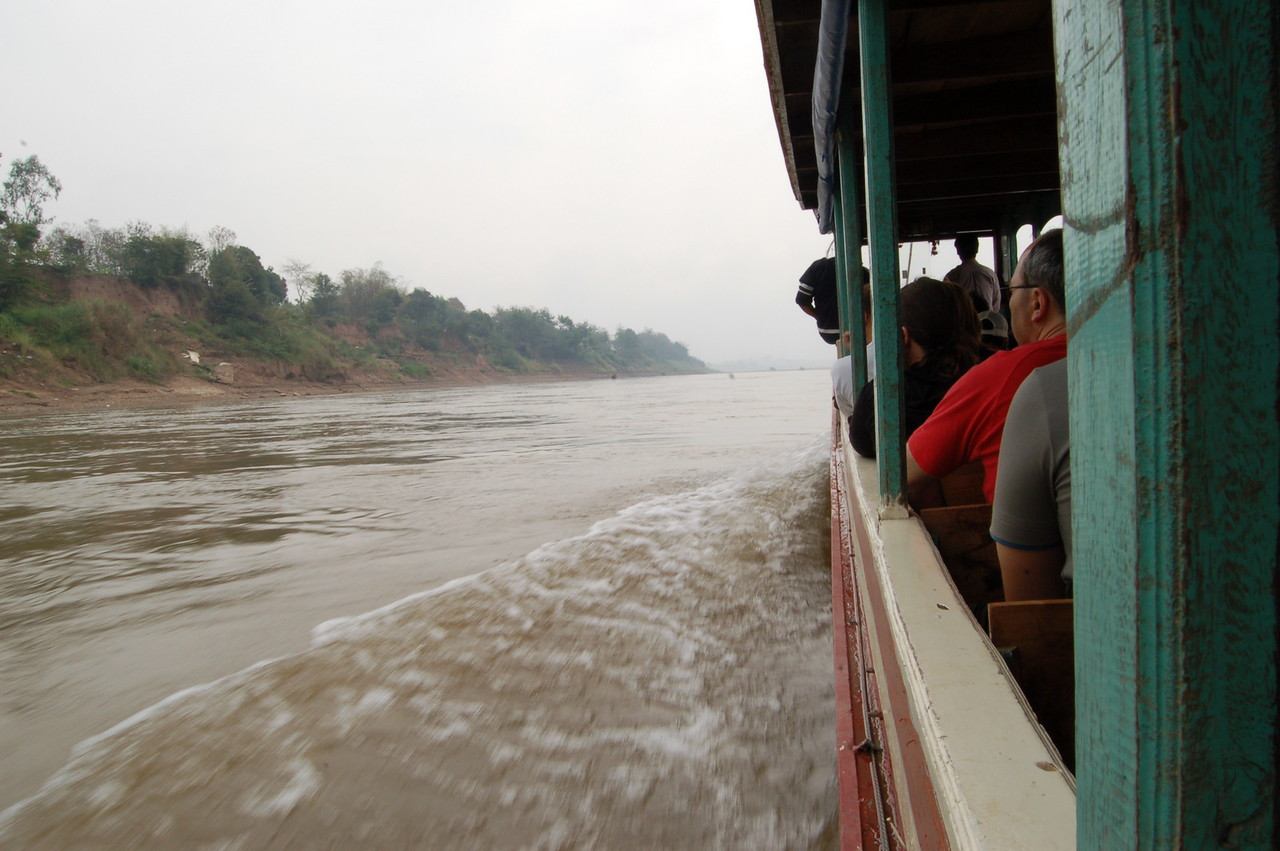 Down the Mekong in the slow boat