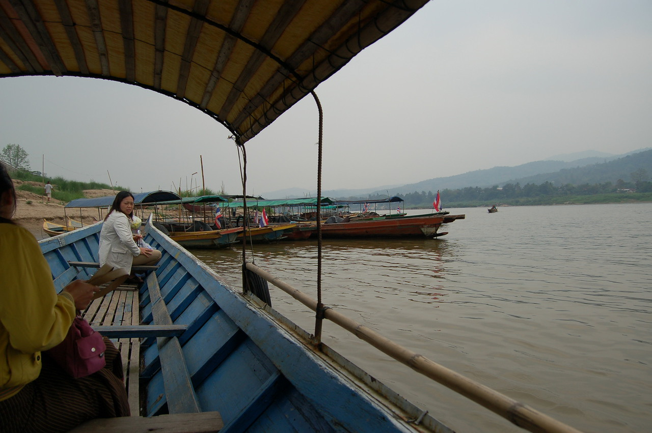 Crossing over to Laos