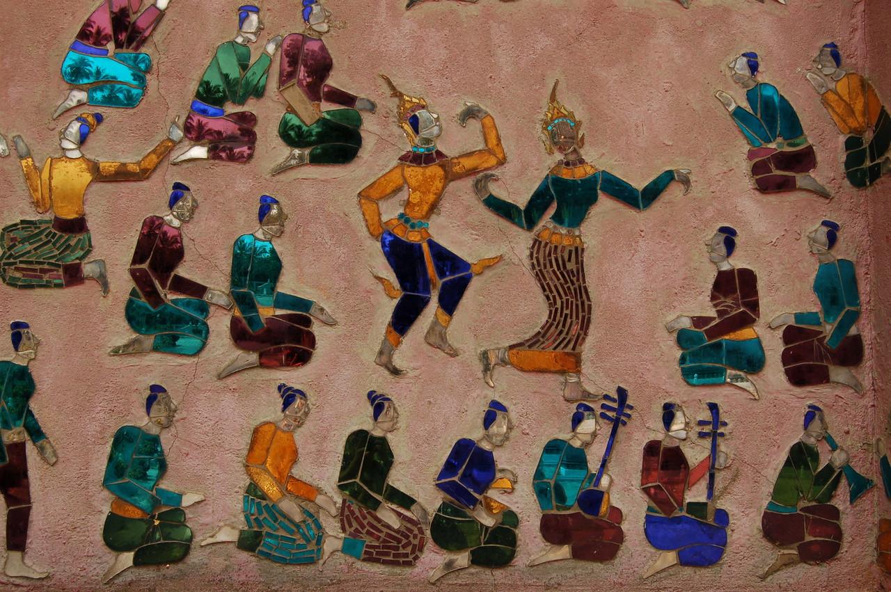 Dancers in tiles