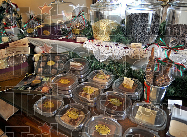 Candyland: Assorted candies are on display at the Brooke's Candy Co. of Dana.