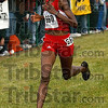 19:30.9 will get you first: Texas Tech's Sally Kipyego nears the finish line at the Lavern Gibson Cross Country course to take first place in the women's 6,000-meter race of the NCAA Div. I Championships Monday, Nov. 19, 2007.