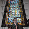 UNiquie work: Chris Dieter talks about the work of restoring the stained galss windows of the Church of the Immaculate Conception at St. Mary-of-the-Woods.