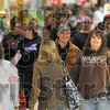 Looking for the early bargains: Shoppers fill the walkways of Honey Creek Mall early Friday morning.
