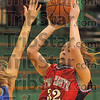 Two more: Krista Smith shoots over a Fountain Central defender.